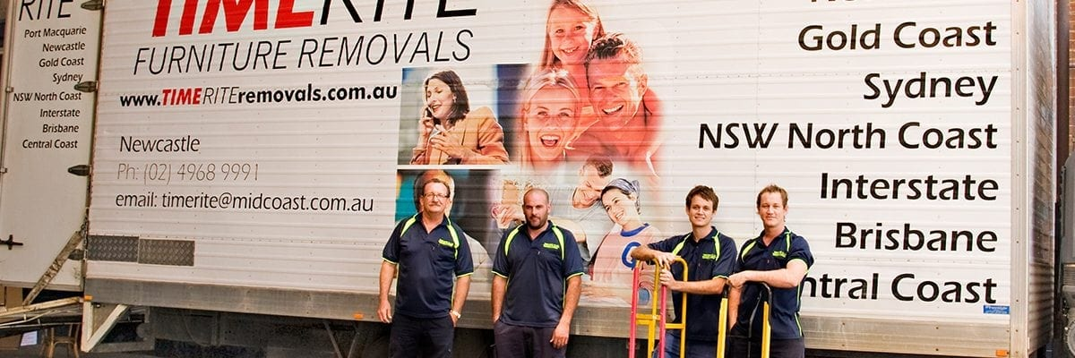 TimeRite Removals interstate removalists