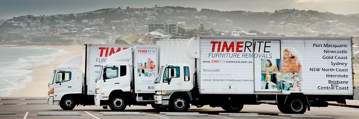 Photo of TimeRite Removals trucks